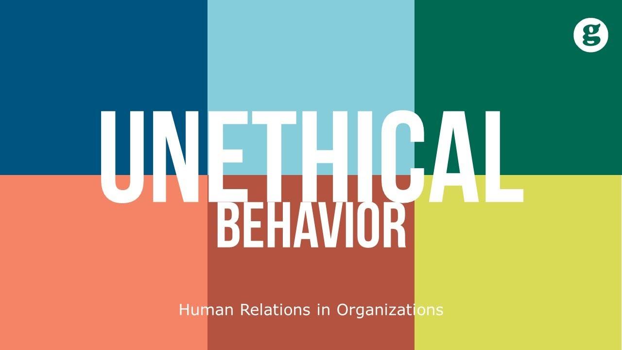 Download Unethical Behavior