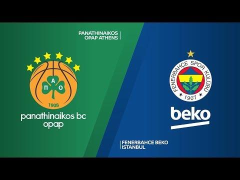Panathinaikos OPAP Athens - Fenerbahce Beko Istanbul Highlights | EuroLeague, RS