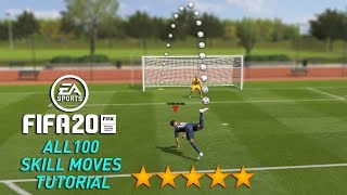 FIFA 20 ALL 110 SKILLS TUTORIAL | PS4 and Xbox