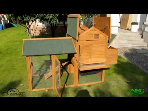 NSG Hill, LLC - Pets Imperial® Large Kingsbourne Chicken Coop