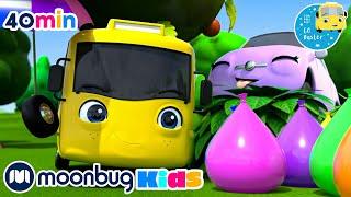 Water Balloon Fight!! +More Super Buster Kids Cartoons &amp Songs  MOONBUG KIDS - Superheroes
