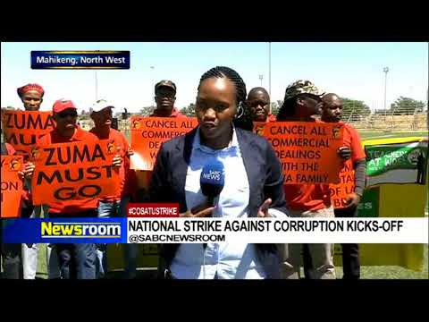 National strike against corruption kicks...