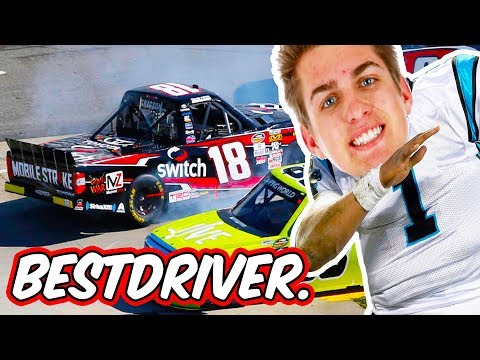 NOAH GRAGSON: WORLD CLASS RACER // NASCAR Heat 2 Online Truck Racing
