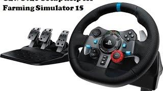 G29 Setup for Farming Simulator 15