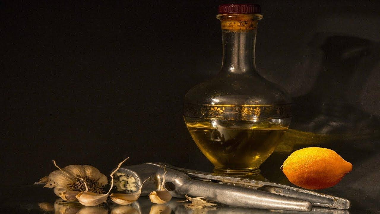 Чесночное масло для сосудов головного мозга