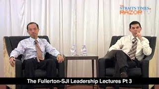 Chinese reaction to Google necessary (George Yeo Lecture Pt 3)