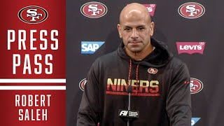Robert Saleh: 'Dee Ford Unlocks Everything' for D-line' | 49ers