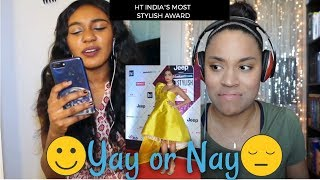 Chai Time With Vickey 3 : W/ Skye Chanel - RATING BOLLYWOOD FASHION   Yay or Nay!!