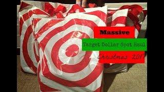 Massive Christmas 2017 Target Dollar Spot Haul
