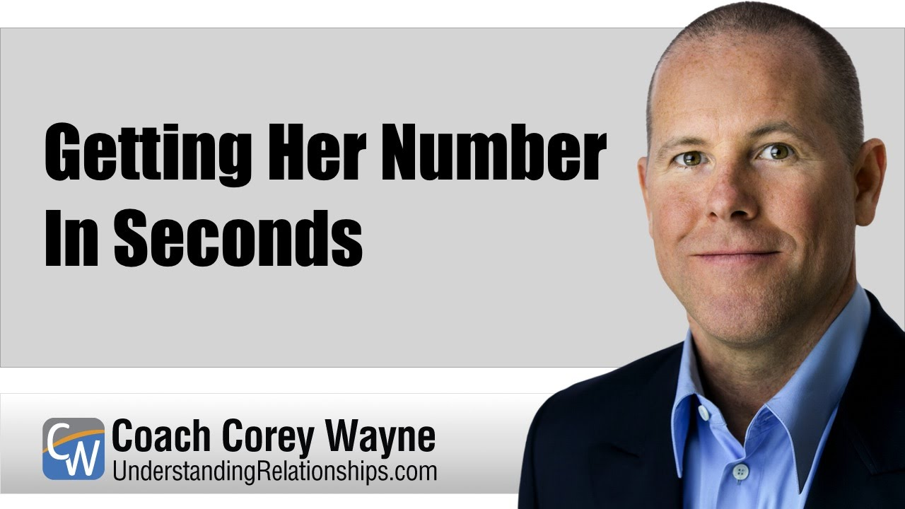 what to do after getting her number