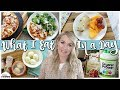 WHAT I EAT in a DAY    Work From Home MOM of 4