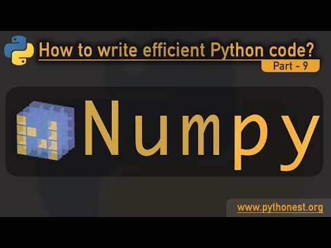 Numpy in Python | how numpy can optimize our code | python tutorial thumbnail