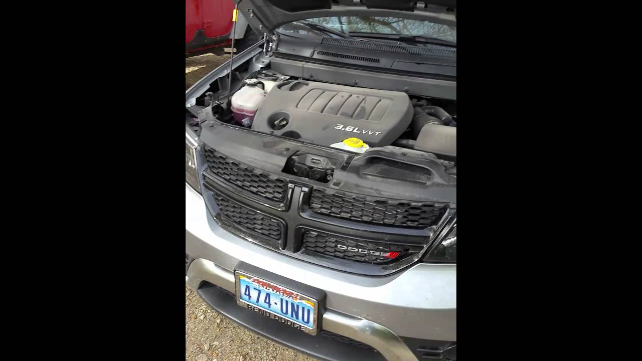 how to jump start a dodge journey with hidden battery. Black Bedroom Furniture Sets. Home Design Ideas