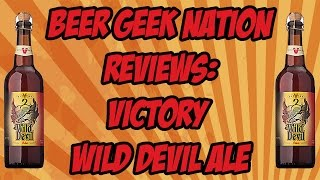Victory Wild Devil Ale (Brett IPA) | Beer Geek Nation Craft Beer Reviews
