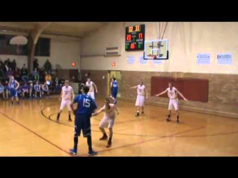 High School Sabres vs Flint Hills Christian School Warriors 01/23/14