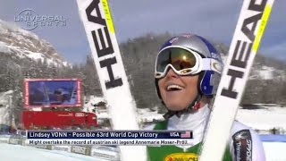 Historic 63rd win for Lindsey Vonn - Universal Sports