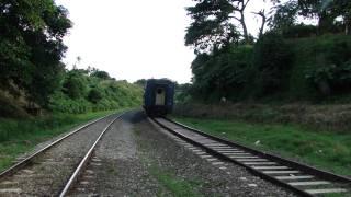El tren Habana-Santiago