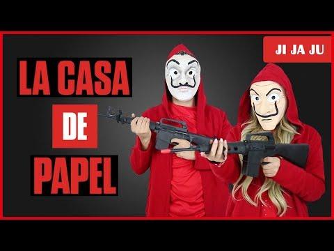 LA CASA DE PAPEL ! Imitamos su mascara !