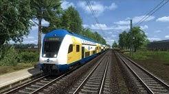 【4K】Let´s Play Train Simulator 2019 Im Metronom von Lüneburg nach Hamburg