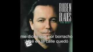 what happened- Ruben Blades- letra-