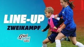 Fussballtraining: Line-up - Zweikampfschulung - Taktik