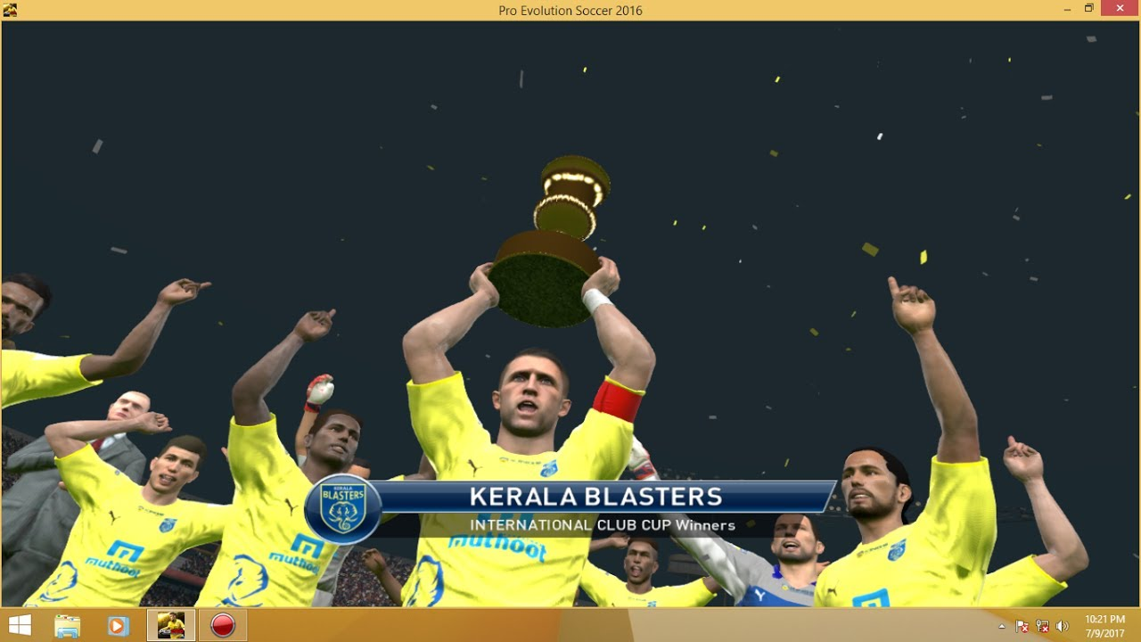 KERALA BLASTERS VS BARCALONA INTERNATIONAL CLUB CUP FINAL!!
