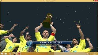 KERALA BLASTERS VS BARCALONA INTERNATIONAL CLUB CUP FINAL!!
