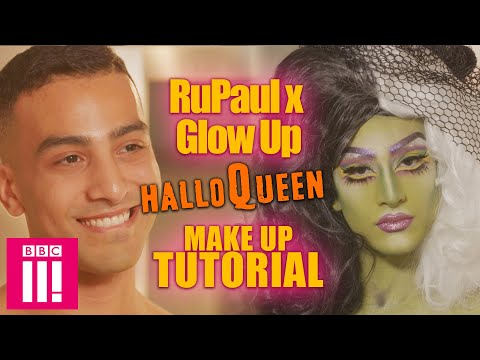 Glow Up x RuPaul HalloQueen Make Up Tutorial thumbnail