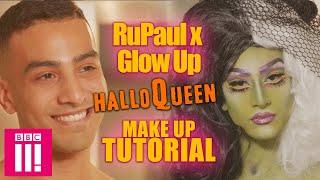 Glow Up x RuPaul HalloQueen Make Up Tutorial