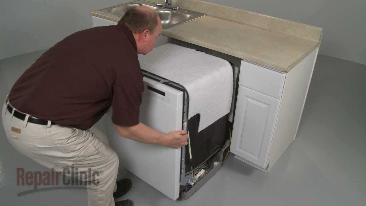 Lg Dishwasher Removal And Reinstall Youtube