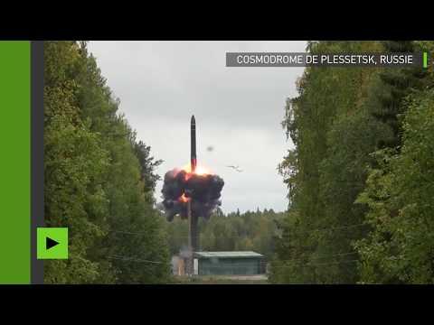Russie : tir d'un missile balistique intercontinental IARS sur une cible en Extrême-Orient russe