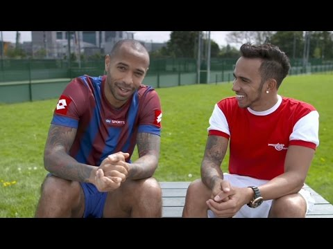 Lewis Hamilton & Thierry Henry - Winners Never Quit, Quitters Never Win