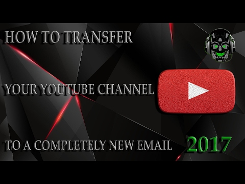 (2017) How To Change Your YouTube Account Email (2017)