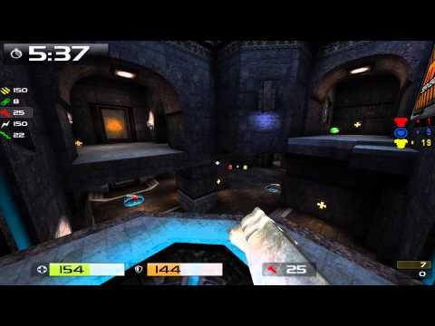 Quake Live: 102.ash vs  tK b4sket , Eurasia Cybercup 2014 (map 1)