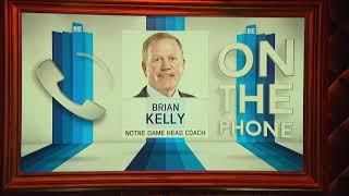 Notre Dame HC Brian Kelly Talks CFB Playoff & More w/Rich Eisen | Full Interview | 11/15/18