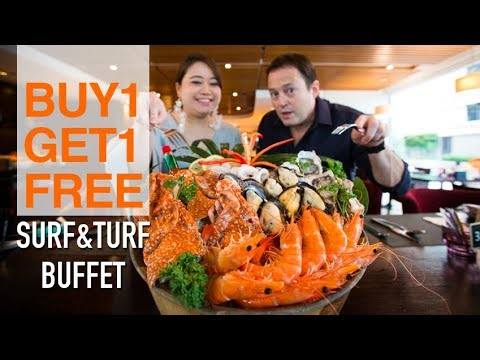 Best Value Surf & Turf Buffet in Bangkok Only 899 Baht ++ Buy 1 Get 1 Free – Review