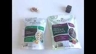 IHERB: Navitas Organics, Power Snacks - Видео обзор