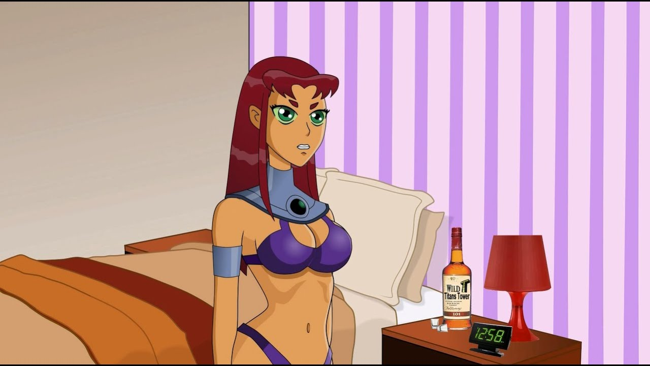 Does robin hook up with starfire
