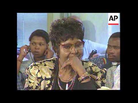 SOUTH AFRICA: ANC MAY NOMINATE WINNIE MANDELA AS DEPUTY PRESIDENT