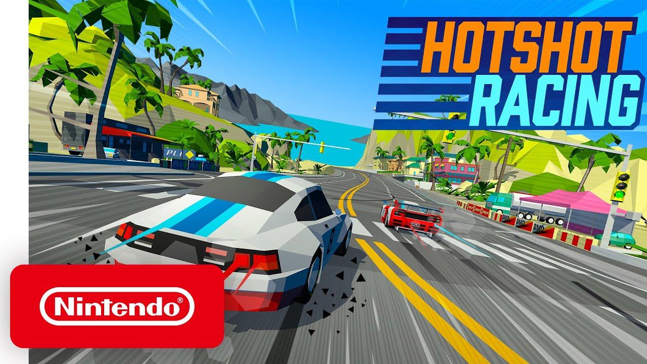 Hotshot Racing - Launch Trailer - Nintendo Switch