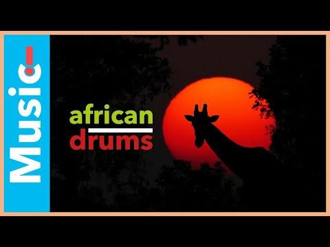 AFRICAN DRUMS   GROW BEYOND YOURSELF MEDITATION MUSIC   432 HZ Binaural Beats & Hypnotic Visuals