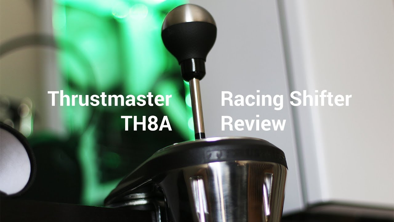 Thrustmaster TH8A Shifter Review And Comparison - video