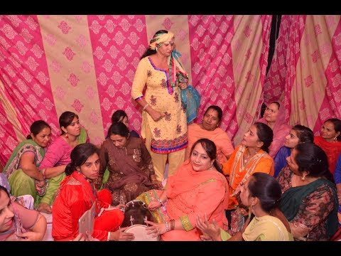 Indian Punjabi Wedding - Ladies Sangeet Function - Silky Sakun
