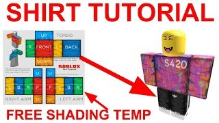 How to Make Clothes on Roblox!! (2019) Photoshop | How to