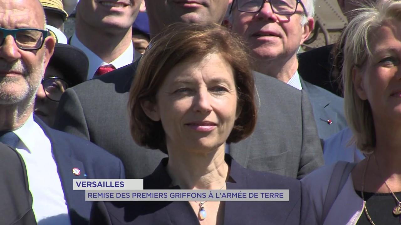 Yvelines | Versailles : Remise des premiers griffons à l'armée de terre
