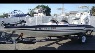 Stratos 285 Pro Elite Bass Boat - 2007 Evinrude Etec