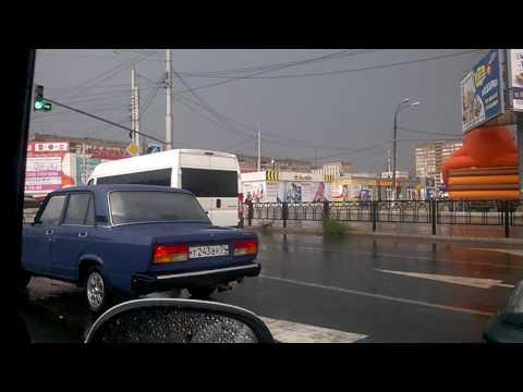 В Магнитогорске погода за час отыгралась за две недели жары