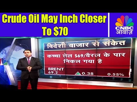 Crude Oil May Inch Closer to $70 | Global Markets Today | 10th Jan | CNBC Awaaz