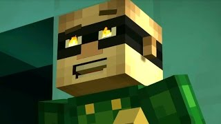Minecraft: STORY MODE - TNT CANNON BATTLE! [6]