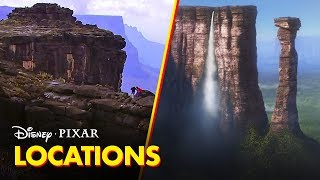 Pixar Did You Know? | The Real Places Behind the Films | Disney•Pixar